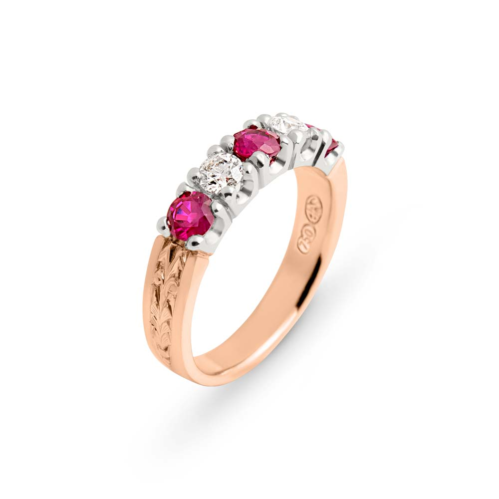 Ruby quality is assured at Brett's Jewellers