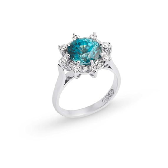 Zircon is one of the 5 Alternatives to the Diamond Engagement Ring at Brett's Jewellers