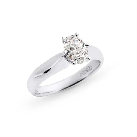 Brett's Jewellers 18ct white gold diamond ring 2