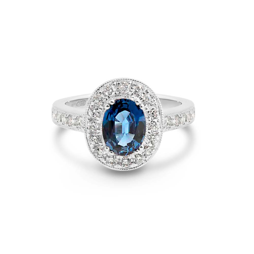 Sapphires are the September birthstone at Brett's Jewellers.