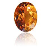 Spessartite Garnet, one of January's Birthstones at Brett's Jewellers